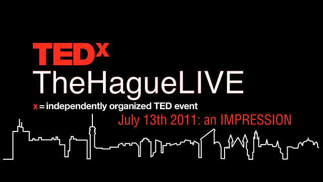 Reportage TEDx TheHagueLIVE